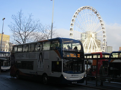 Stagecoach Manchester 10031 PX12DNV Piccadilly Gardens, Manchester on 32