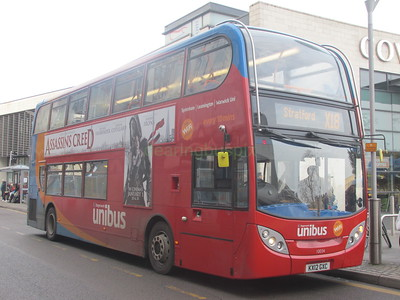 Stagecoach Midlands 10034 KX12GXC Hales St, Coventry on X18