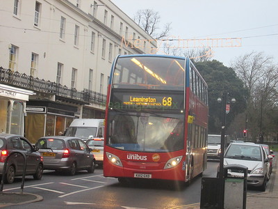 Stagecoach Midlands 10035 KX12GXD Parade, Leamington Spa on 68