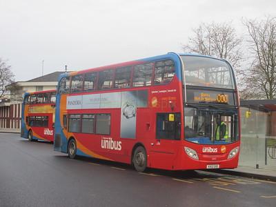 Stagecoach Midlands 10035 KX12GXD University of Warwick Bus Stn