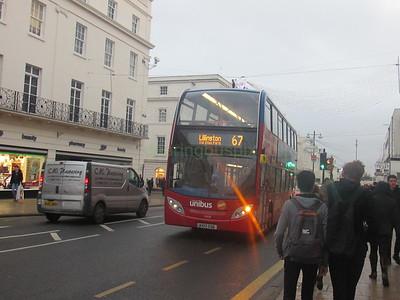 Stagecoach Midlands 10038 KX12GXG Parade, Leamington Spa on 67