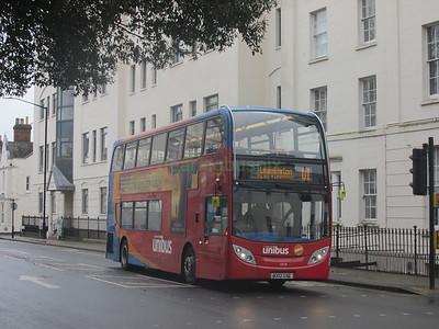 Stagecoach Midlands 10038 KX12GXG Clarendon Ave, Leamington Spa on U1