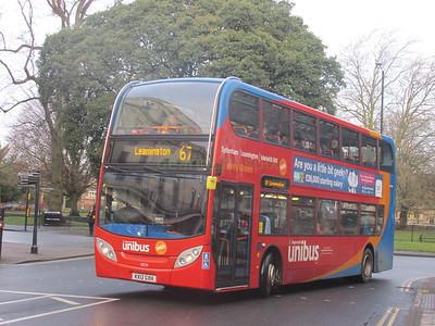 Stagecoach Midlands 10039 KX12GXH Parade, Leamington Spa on 67