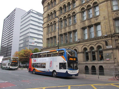 Stagecoach Manchester 10042 MX12LWH Portland St, Manchester on X57