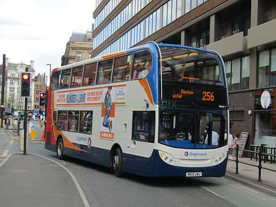 Stagecoach Manchester 10043 MX12LWJ Portland St, Manchester on 256