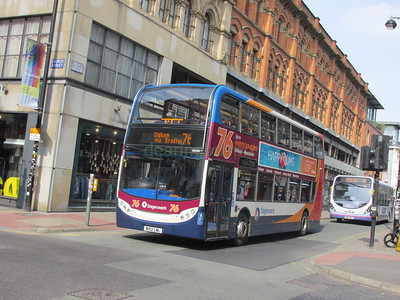 Stagecoach Manchester 10045 MX12LWL Oldham St, Manchester on 76