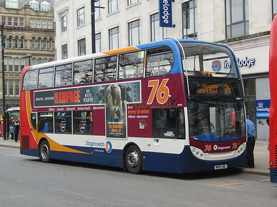 Stagecoach Manchester 10045 MX12LWL Piccadilly, Manchester on 76