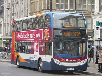 Stagecoach Manchester 10045 MX12LWL Piccadilly, Manchester on 76A