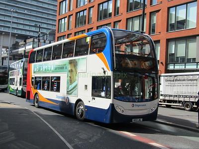 Stagecoach Manchester 10045 MX12LWL Portland St, Manchester on 205