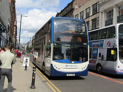 Stagecoach Manchester 10046 MX12LWM Oldham St, Manchester on 76