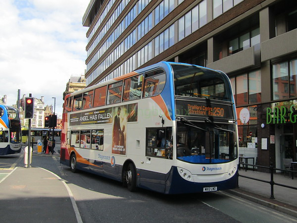 Stagecoach Manchester 10048 MX12LWO Portland St, Manchester on 250