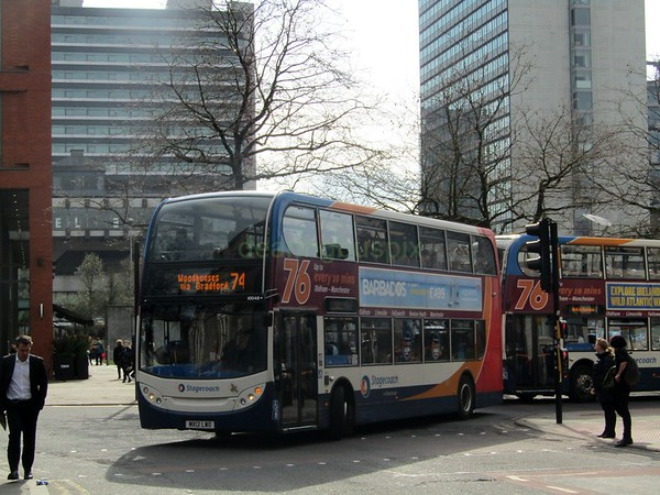 Stagecoach Manchester 10048 MX12LWO Lever St, Manchester on 74