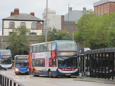 Stagecoach Manchester 10048 MX12LWO Stockport Bus Stn on 197