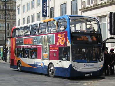 Stagecoach Manchester 10049 MX12LWP Piccadilly, Manchester on 76