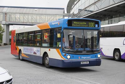 Stagecoach Busways 22031 Metro Centre Gateshead Sep 15