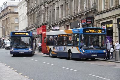 Stagecoach Busways 22021_22071 Grainger St Newcastle Sep 15