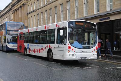 Go North East 4949 Grainger Street Newcastle Jul 17