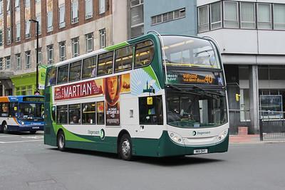 Stagecoach Busways 12076 Newgate St Newcastle Sep 15