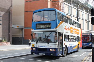 Stagecoach Busways 16711 Newgate St Newcastle Apr 10