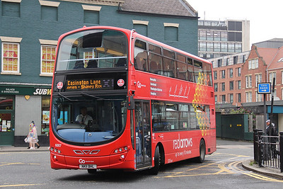 Go North East 6007 Prudhoe Place Newcastle Jul 17
