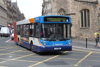 Stagecoach Busways 22471 Grainger St Newcastle Apr 10