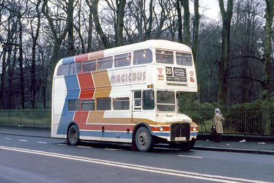Magicbus 145CLT Carmunnock Rd Glasgow Jan 88