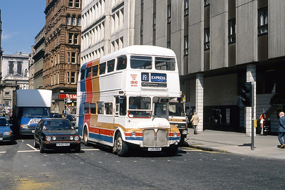 Magicbus LDS68A Killermont St Glasgow May 89