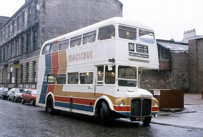 Magicbus 607DYE Dixon St Glasgow Dec 86