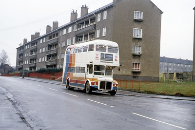 Magicbus 699DYE Scaraway St Milton Glasgow Jan 88