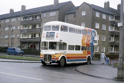 Magicbus 250CLT Shapinsay St Milton Glasgow Jan 88