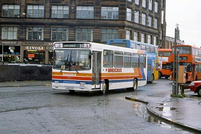 Magicbus J516FPS Osborne St Glasgow Mar 92