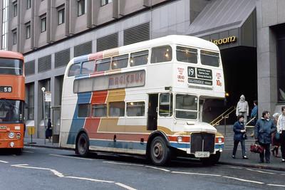 Magicbus CUV121C Renfrew St Glasgow 1 Jan 88