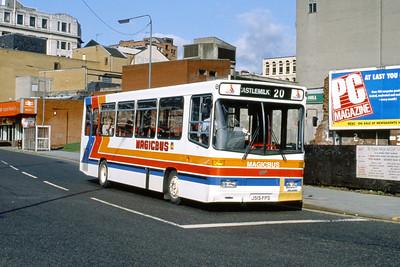 Magicbus J515FPS Osborne St Glasgow Mar 92