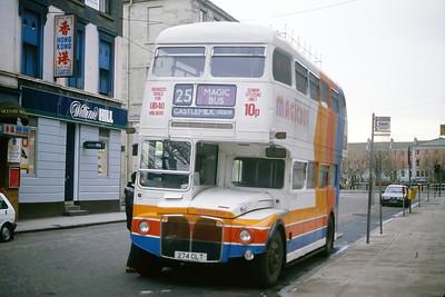 Magicbus 274CLT Dixon St Glasgow Jan 88