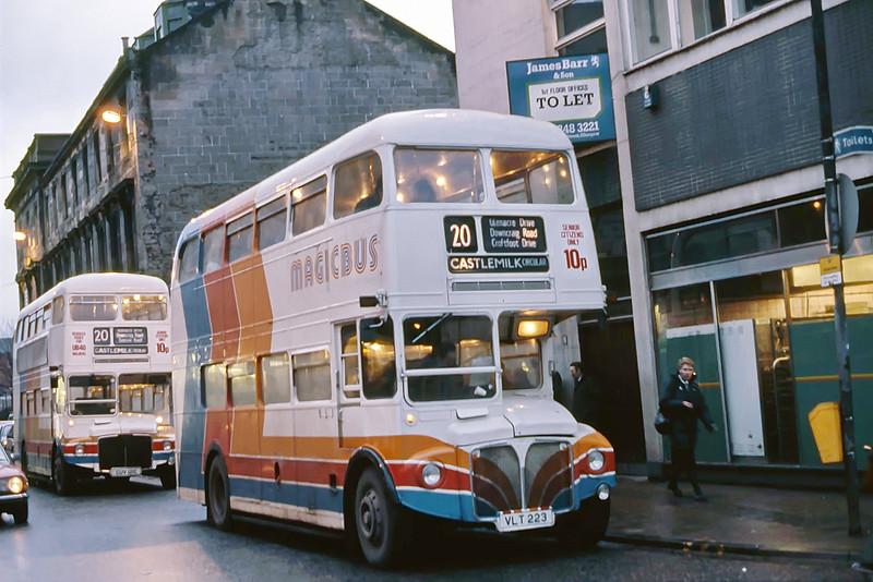 Magicbus VLT223 Dixon St Glasgow Feb 88