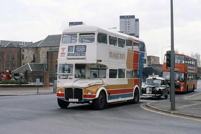 Magicbus 628DYE Gorbals St Glasgow Apr 88