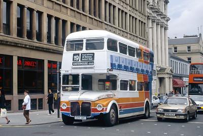 Magicbus CUV121C Bath St Glasgow Jun 91