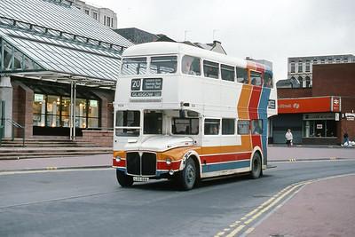 Magicbus LDS68A St Enoch Centre Glasgow Jan 90