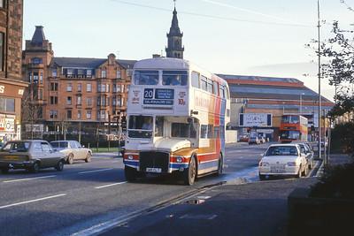 Magicbus 145CLT Clyde St Glasgow Jan 88