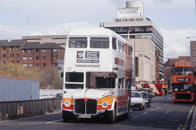 Magicbus 615 Cathedral Street Glasgow Mar 92