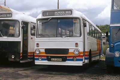 Magicbus GLS265N Springburn Depot Jun 91