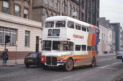 Magicbus 611DYE Clyde St Glasgow Jan 87
