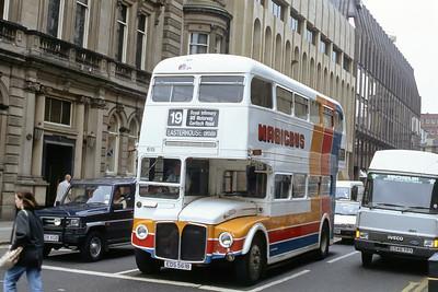 Magicbus EDS561B W George St Glasgow Aug 91