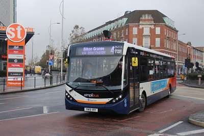 Stagecoach Lincolnshire 26272 Margaret Moxon Way Hull Nov 19
