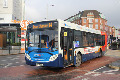 Stagecoach Lincolnshire 22796 Margaret Moxon Way Hull Nov 19