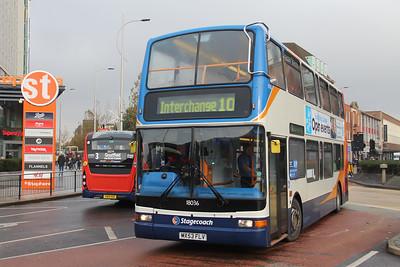 Stagecoach Lincolnshire 18036 Margaret Moxon Way Hull 1 Nov 19