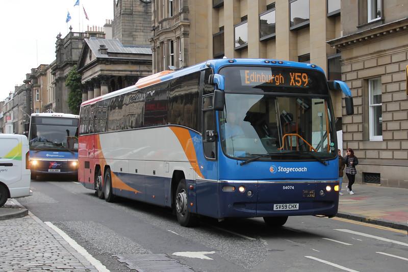 Stagecoach East Scotland 54074 George Street Edinburgh Sep 16