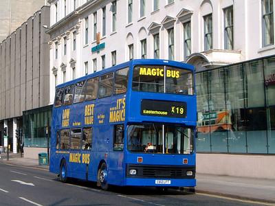 Stagecoach Glas 14612 George Sq Glasgow May 04