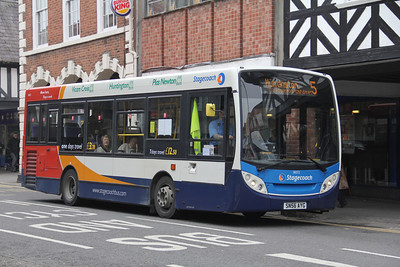 Stagecoach in Chester 36072 Foregate St Chester Apr 14