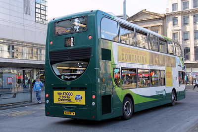 Stagecoach Man 12032 Piccadilly Mcr Oct 11